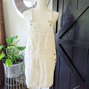 🍭 Gap Medium Shortalls White Denim